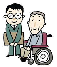 一人暮らしの高齢者サポート